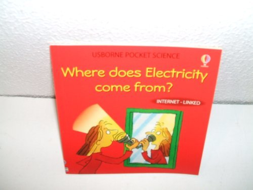 9781409534693: WHERE DOES ELECTRICITY COME FROM? USBORNE POCKET SCIENCE