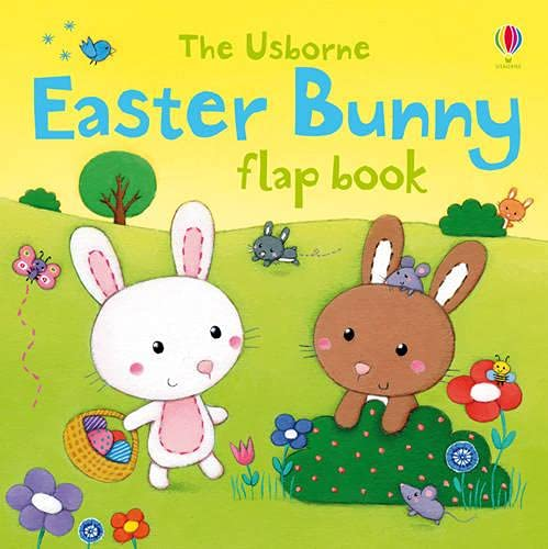 9781409534730: Easter Bunny Flap Book (Usborne First Sticker Books)