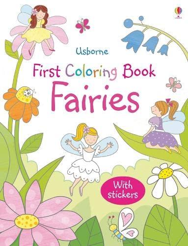 9781409534761: Fairies (Usborne First Colouring Books)