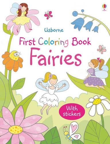9781409534761: Fairies (Usborne First Colouring Books) (First Colouring Books with stickers)
