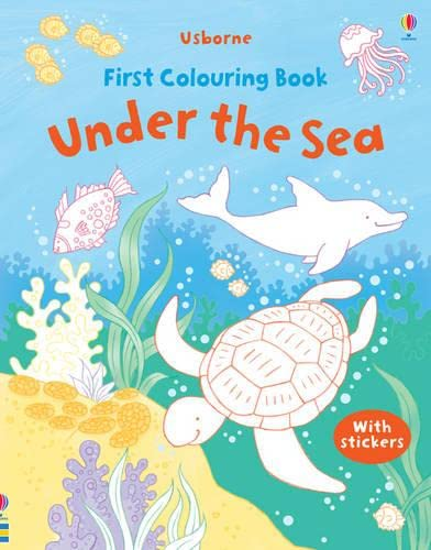 9781409534792: Under the Sea (Usborne First Colouring Books)