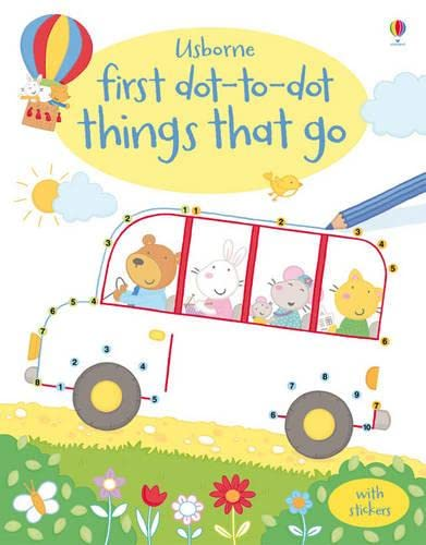 9781409534822: Things That Go (Usborne First Dot to Dot Books)