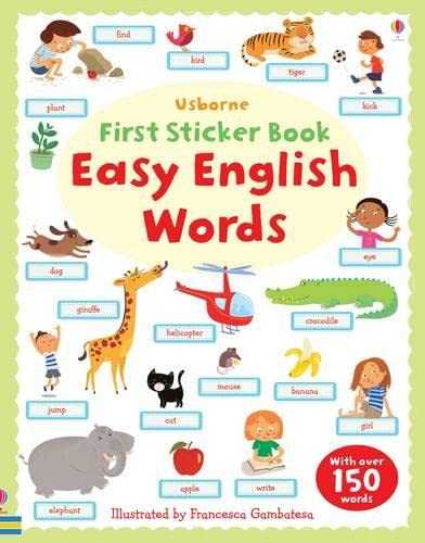 9781409534884: Easy English Words (First Sticker Books)