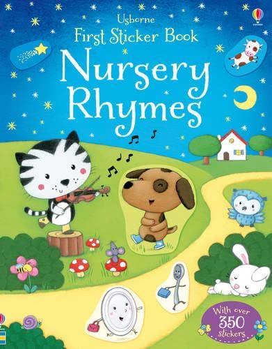 9781409534914: Nursery Rhymes (Usborne First Sticker Books)