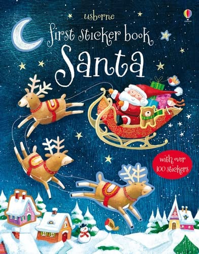9781409534921: First Sticker Book: Santa (Usborne First Sticker Books)