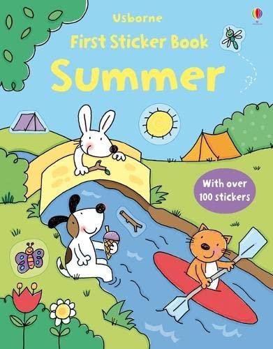 Summer (Usborne First Sticker Books): Greenwell, Jessica
