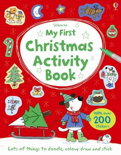 9781409535133: My First Christmas Activity Book (Usborne Activity Books)