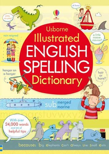 9781409535188: Illustrated English Spelling Dictionary (Illustrated Dictionary)