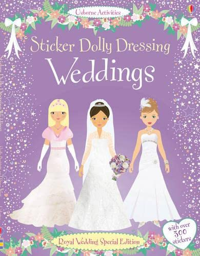 9781409535379: Sticker Dolly Dressing Weddings