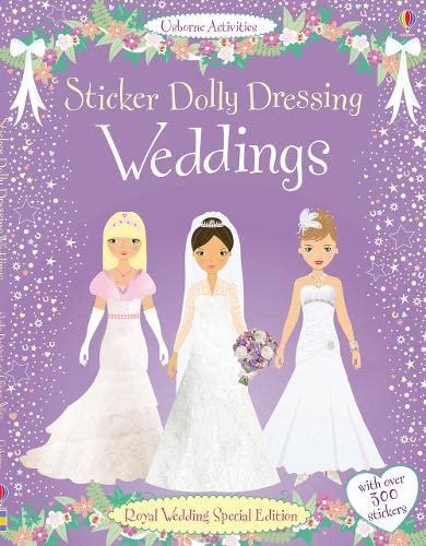 9781409535379: Sticker Dolly Dressing. Weddings