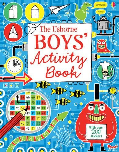 9781409535706: Boy's Activity Book