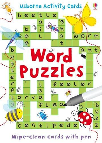 9781409536796: Word Puzzles (Usborne Puzzle Cards) (Activity and Puzzle Cards)