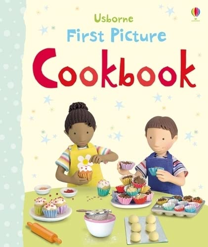 9781409537137: First Picture Cookbook (Usborne First Picture Books)
