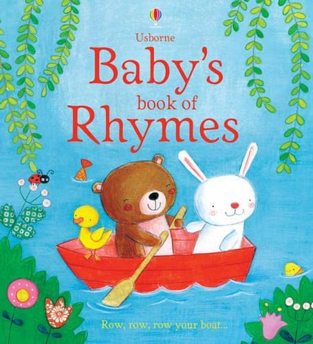 Baby's Book of Rhymes (Usborne Tabbed Board Books): Brooks, Felicity