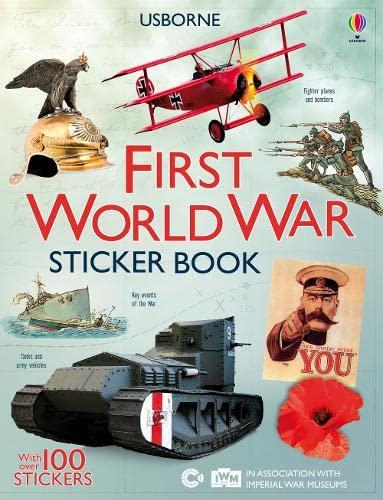 9781409537809: First World War Sticker Book (Sticker Information Books)