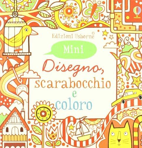 9781409537885: Disegno, scarabocchio e coloro. Mini. Rosso