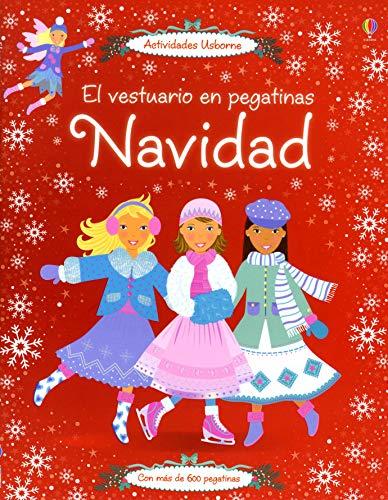 9781409538820: Navidad - El Vestuario En Pegatinas