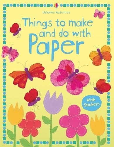 9781409538943: Things to Make and Do with Paper. Stephanie Turnbull, Author