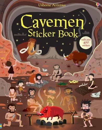 9781409539681: Cavemen Sticker Book (Young History Sticker Books)