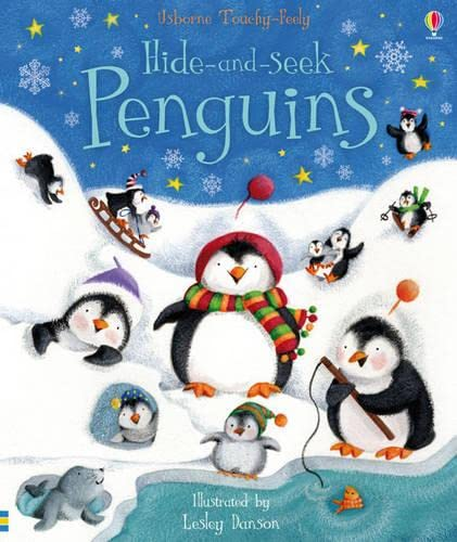 9781409540588: Hide and Seek Penguins (Touchy Feely Hide and Seek)