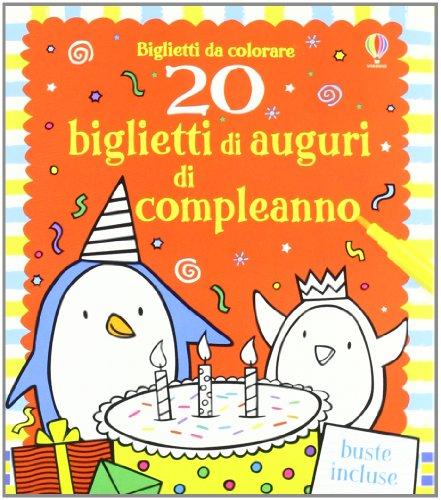 9781409542308: 20 biglietti di auguri di compleanno