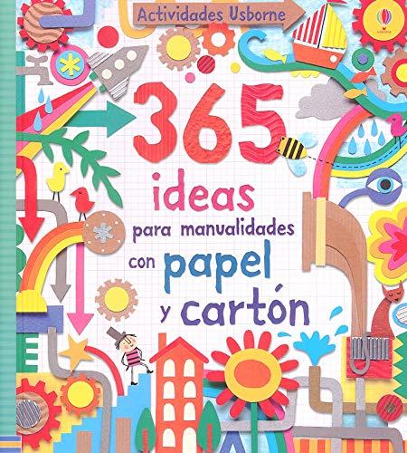 9781409543596: 365 ideas para manualidades con papel y cartón