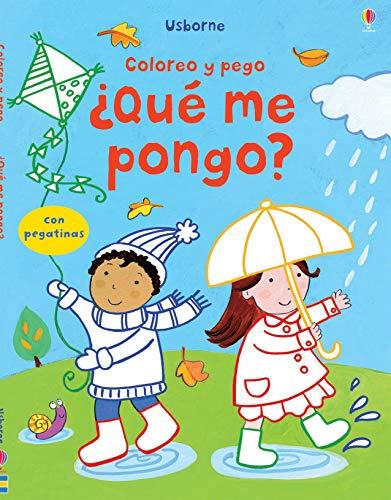 9781409544487: QUE ME PONGO COLORES Y PEGO