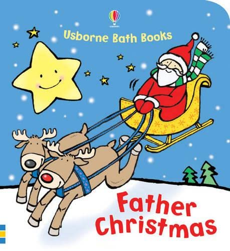 9781409544890: Father Christmas (Usborne Bath Books)