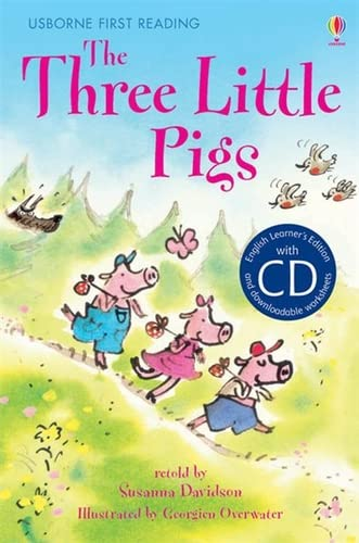 9781409545262: The Three Little Pigs [Book with CD] (First Reading Series 3)