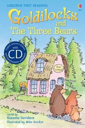 9781409545323: Goldilocks and the Three Bears. Book + CD: Usborne English (Reading Programme Level 4)