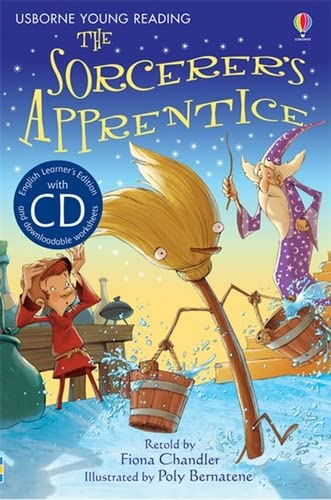 9781409545385: The Sorcerer's Apprentice [Book with CD] (Young Reading Series 1)
