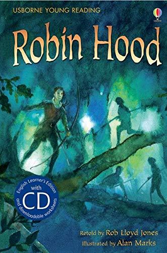 9781409545651: Robin Hood. Book + CD: Usborne English (Usborne English Learners' Editions)
