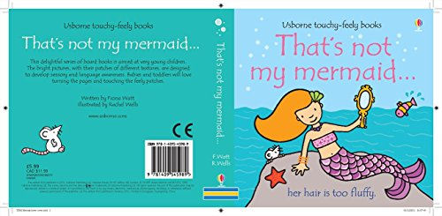 9781409545989: That's Not My Mermaid... (Usborne Touchy-Feely Books)