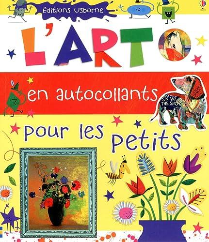 9781409546931: ART EN AUTOCOLLANTS PR PETITS