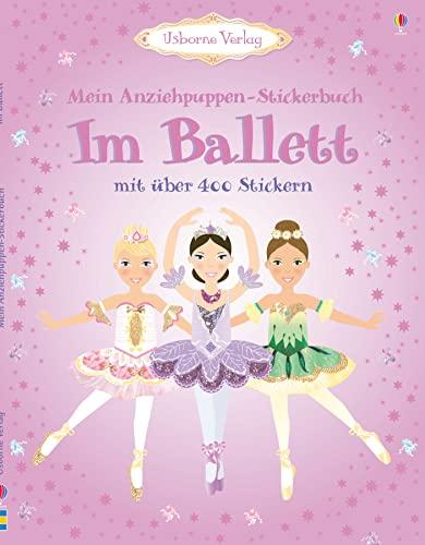 9781409547471: Mein Anziehpuppen-Stickerbuch: Im Ballett