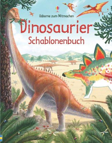 9781409547679: Dinosaurier Schablonenbuch