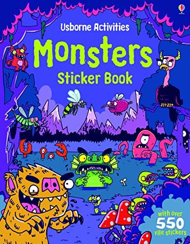 9781409548843: Monsters Sticker Book (Usborne Sticker Books)