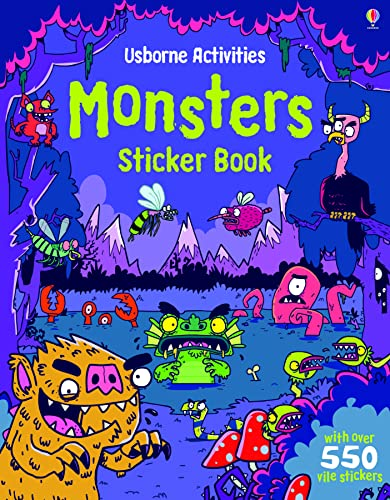 9781409548843: Monsters Sticker Book (Usborne Sticker Books)