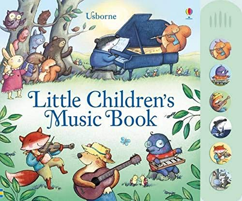 9781409549697: Little Children's Music Book (Usborne Noisy Books)