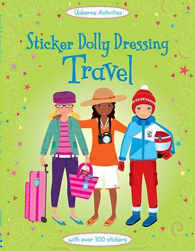 9781409549703: Sticker Dolly Dressing: Travel