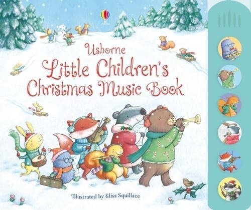 9781409549758: Little Children's Christmas Music Book (Musical Books)