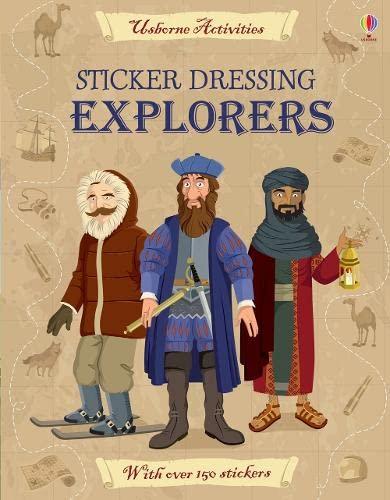 9781409549949: Sticker Dressing Explorers
