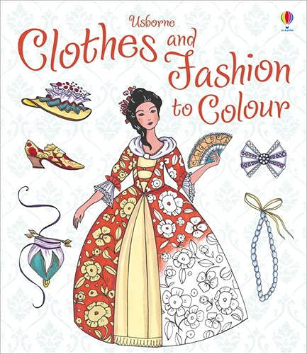 9781409549970: Clothes and Fashion to Colour (Colouring Books)