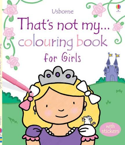 9781409550051: That's Not My... Colouring Book for Girls
