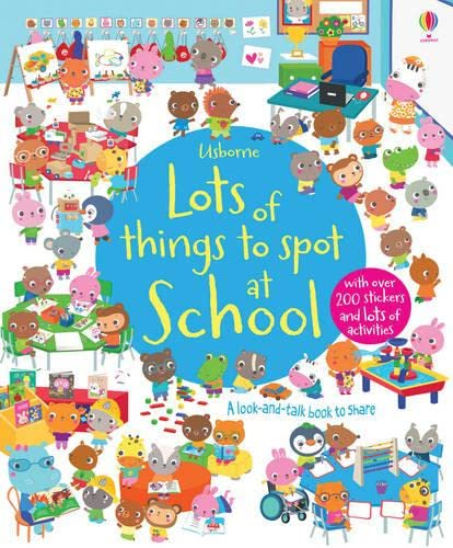 9781409550174: Lots of things to spot at school