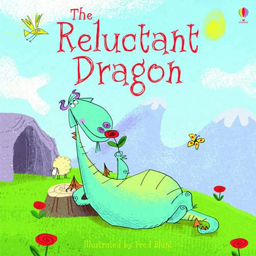 The Reluctant Dragon (Picture Book): Lesley Sims