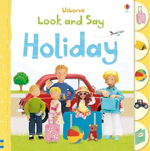 Look and Say: Holiday (Usborne Look and Say): F. Brooks