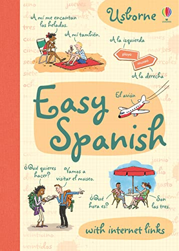 9781409551225: Easy Spanish (Usborne Easy Languages)