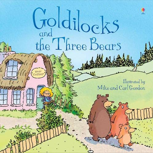 9781409551294: Goldilocks and the Three Bears (Usborne Picture Books)