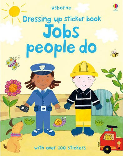 9781409551409: Jobs People Do (Usborne Getting Dressed Sticker Books)